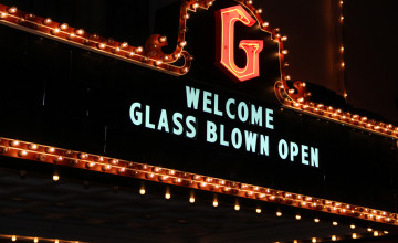 Glass Blown Open Disc Golf Granada Theatre