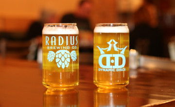 Glass Blown Open Ale at Radius Brewery