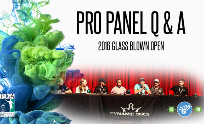 Glass Blown Open PDGA Pro Panel